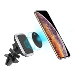 Magnetic Car Phone Holder, Comsoon Universal Car Air Vent Mount with 360° Rotation, Adjustable Cell Phone Car Cradle for iPhone X XS Max XR 8 7 Plus 6 6s Plus, Galaxy S9 S8 Plus Note 9 8, and etc. (Black)